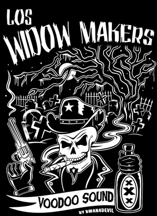 LOS WIDOW MAKERS T-SHIRT DESIGN BY BWANADEVIL