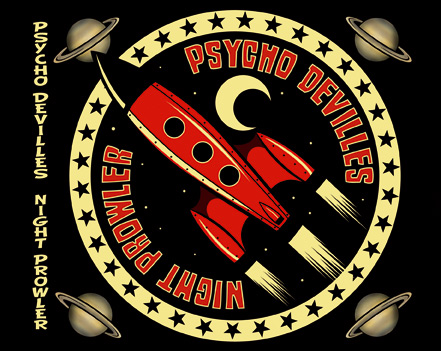 "Tray in of Psycho Devilles new album ""Night Prowler"". Created by BwanaDevil"